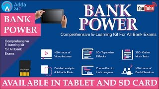 Bank Power Launch : The Revolution In Education (Online Coaching for Bank Po Exams)