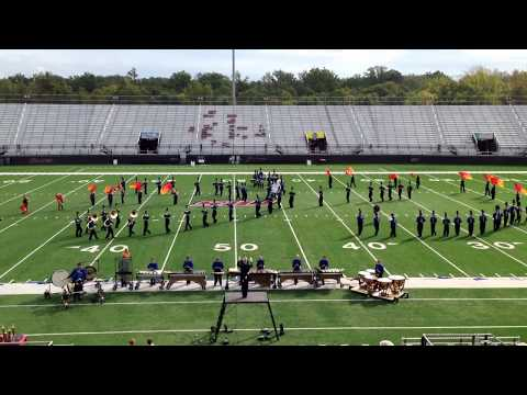 Marion High School, Marching Wildcat Band - SIUC Music & Motion 2013