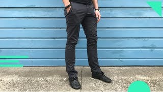 Bluffworks Chino (Tailored Fit) Review | Travel Pants That Don't Look Like Travel Pants