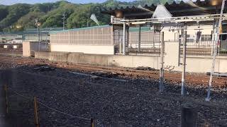三陸鉄道 36形202D 釜石駅発車(車窓) 2018年5月5日