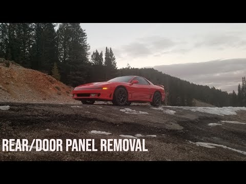 Rear/Door Panel Removal 3000GT Or Stealth
