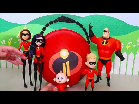 LOL Big Surprise Ball Incredibles 2 DIY ! Toys and Dolls Fun Pretend Play & Blind Bags | SWTAD
