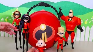 LOL Big Surprise CUSTOM Ball Incredibles 2 DIY ! Toys and Dolls Kids Fun Opening Blind Bags | SWTAD