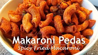 Resep Makaroni Goreng Pedas (Spicy Fried Macaroni Recipe)