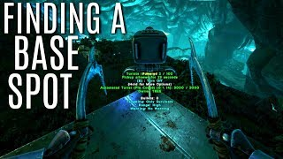 STARTING OUR BASE in the Blue Zone - SOLO ARK PVP - MTS (E3)
