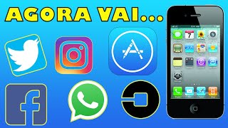 INSTALANDO APPS NO IPHONE 4 - NOVO MÉTODO