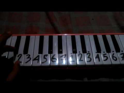 Pianika lagu bunda