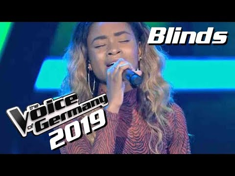 Sam Smith, Normani - Dancing With A Stranger (Barbara Kabangu) | The Voice of Germany 2019 | Blinds