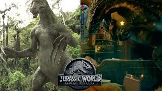 Does the Indoraptor Have Therizinosaurus DNA?   Jurassic World Fallen Kingdom Theory