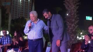 مصر العربية   مرتضي منصو يكرم أبطال مسلسل ظل الرئيس