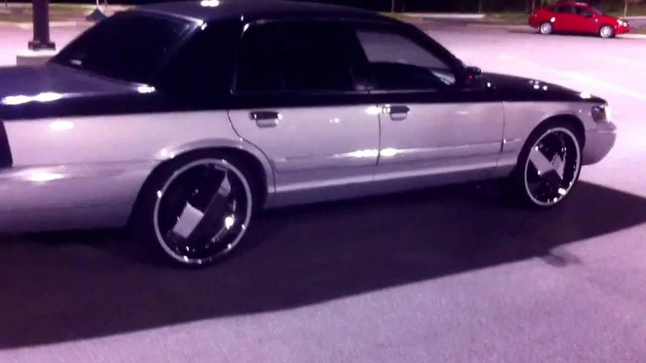 My Grand Marquis 22 S After Market Headlights 8k Hid 2 Jl 13 5 And A 20 Flip Down You