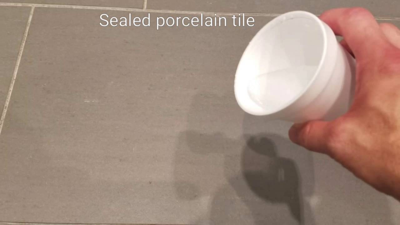 Does Porcelain Tile Need To Be Sealed