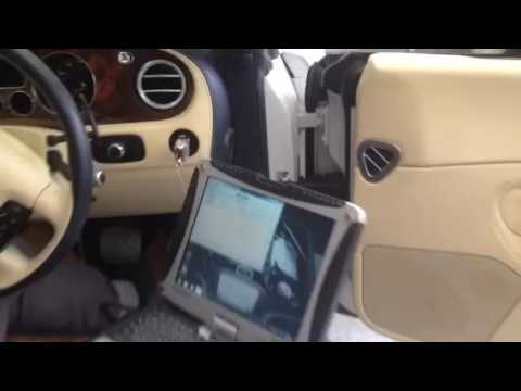 bentley engine diagnostics youtube