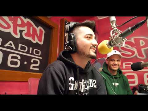 Kelso freestyle v radio Spin-Praha