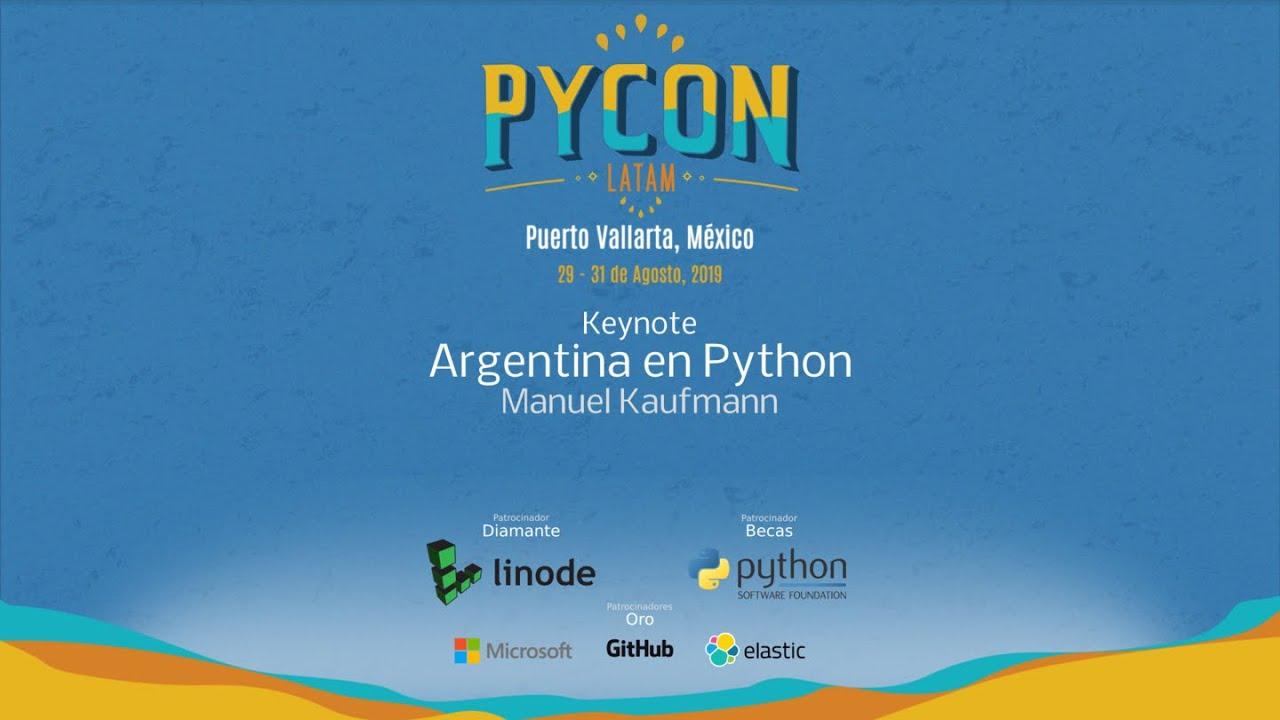 Image from Argentina en Python