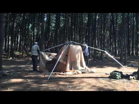 Offroad campinggear tent : SAHARA S Tent Setup