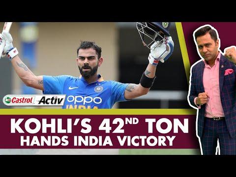 #WIvIND: KOHLI's 42nd TON hands India VICTORY | Castrol Activ #AakashVani