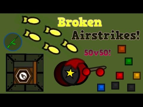 Surviv.io AIRSTRIKES ARE BROKEN!!! + Leader Super 90 Domination! (Surviv.io 50v50 Update)