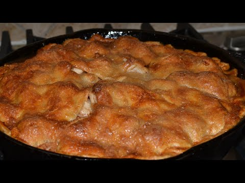BEST Apple Pie How To Make In Skillet - Recipe | Only 7 Ingredients