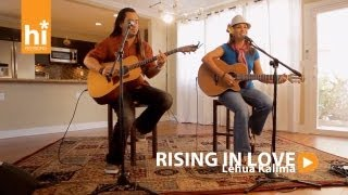 Lehua Kalima - Rising In Love (HiSessions.com Acoustic Live!)