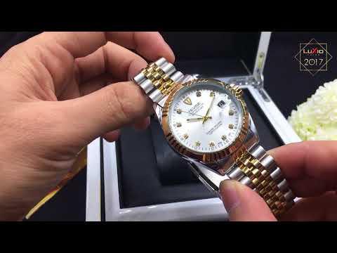 Review Sản Phẩm đồng Hồ Cơ TEVISE Mới Nhất Chỉ Có Tại Luxio Watch