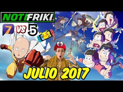 Canal 5 vs Azteca 7, FLCL 2 y 3, Onepunch-man latino, Osomatsu-san / NOTIFRIKI JUNIO 2017