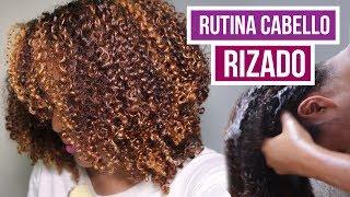 RUTINA CABELLO RIZADO 2017