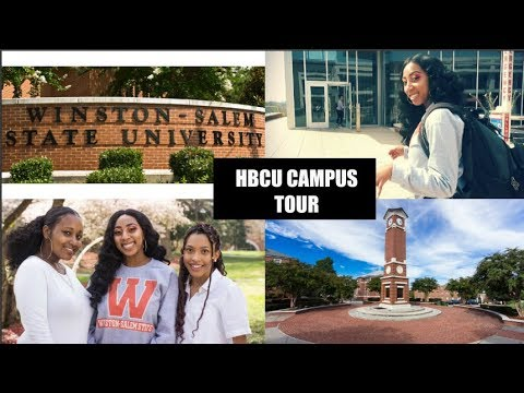 WINSTON SALEM STATE UNIVERSITY CAMPUS TOUR | HBCU