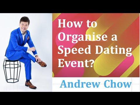 How to set up a speed dating agency