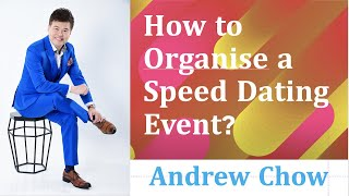 How To Organise A Speed Dating Event?