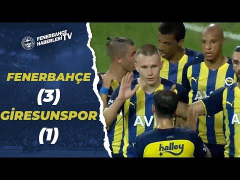 Fenerbahçe 3 – 1 Giresunspor MAÇ ÖZETİ VE GOLLERİ (Hazırlık Maçı)