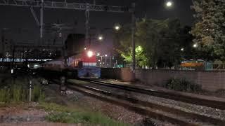 [철도]수색발 청량리행 화물열차(#7099) 서빙고북부…
