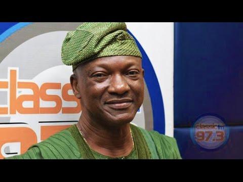 "Jimi Agbaje on Classic FM 97.3's ""The Discuss"" with Jimi Disu"