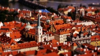 Petit Prague (Time-Lapse ,Tilt-Shift)
