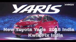 Toyota Yaris 2018 India Specification, Review, features Hindi