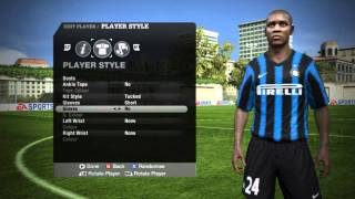 FIFA 11 ★ Internazionale Players Faces ★ HD