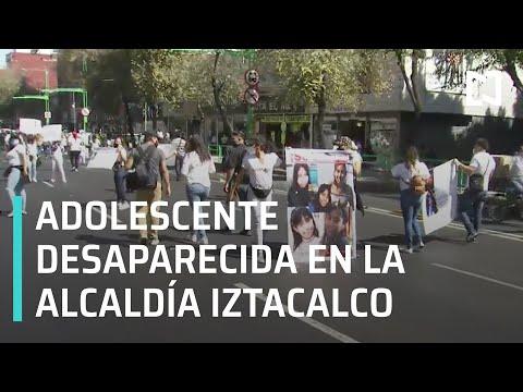 Familiares de joven desaparecida marchan en CDMX - Por las Mañanas