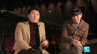 South Korean cinema figures Song Kang-ho and Kim Jee-woon sit down with FRANCE24
