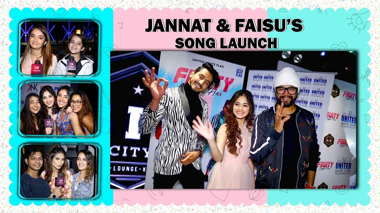 Jannat Zubair Rahmani, Mr. Faisu & Ramji's Song Launch | Ashnoor, Anushka, Reem, Nagma & More