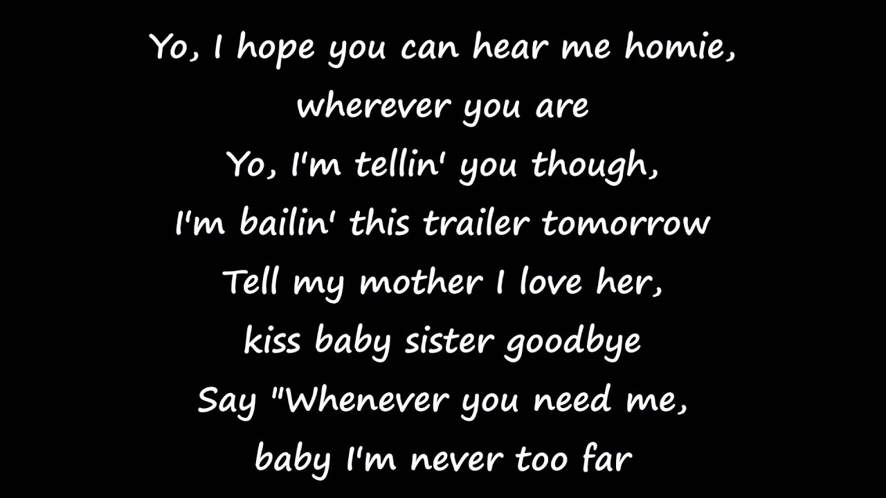 Eminem – 8 Mile Lyrics | Genius Lyrics