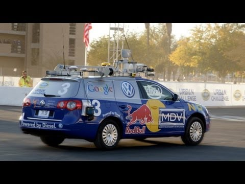 Google's Driverless Car (Sebastian Thrun)