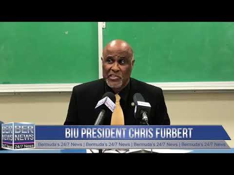 BIU President Chris Furbert Press Conference, Nov 20 2019