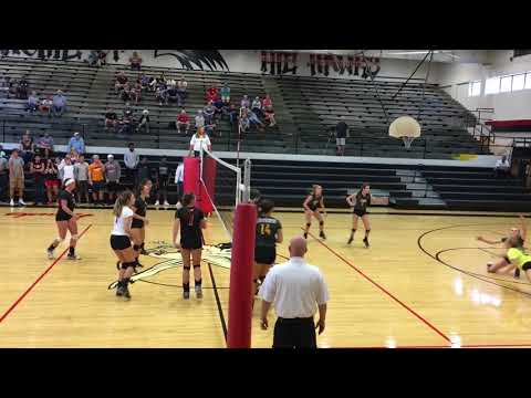WATCH: Camden volleyball swept South Side