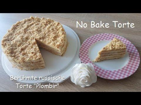 "Unglaublich Leckere Russische No Bake Torte ""Plombir""/Famous Russian NoBake Cake""Plombir"""
