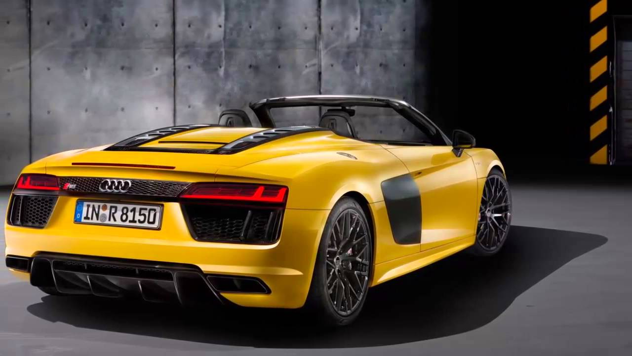 Audi R8 V10 Plus Spyder 2017 Interior Youtube