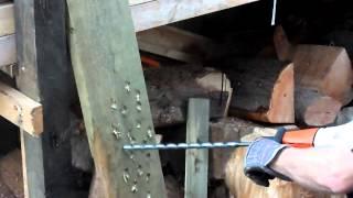 Stihl Gas Wood Boring drill