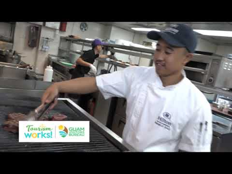 Tourism Works: Angelo Diaz, Hilton Guam Resort & Spa