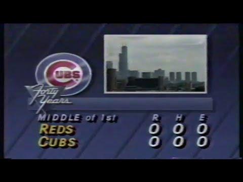 1988 MLB: Reds at Cubs 9/4/1988