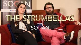 The Strumbellas - Simon Ward & Isabel Ritchie with SOCAN