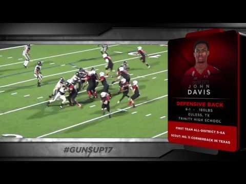#GunsUp17 National Signing Day - John Davis